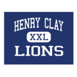 Henry Clay Lions Middle Los Angeles Postcard