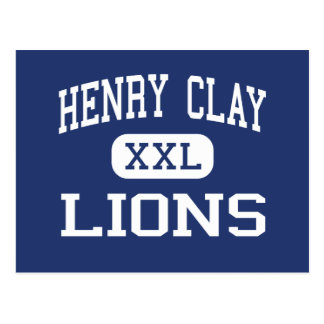 Henry Clay Lions Middle Los Angeles Postcards