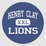 Henry Clay Lions Middle Los Angeles Stickers