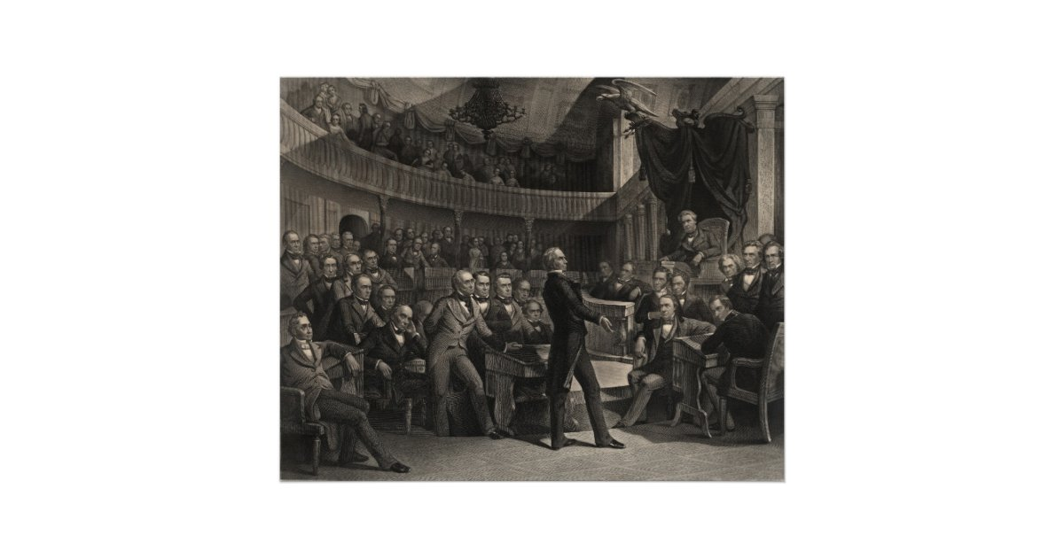 Henry Clay Poster Zazzle Com