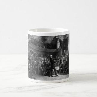 Henry Clay que habla en el senado Taza De Café