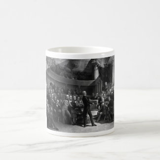 Henry Clay Speaking In The Senate Coffee Mug