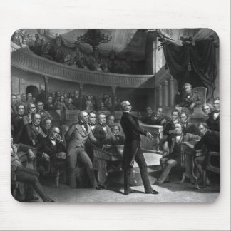 Henry Clay Speaking In The Senate Mouse Pad