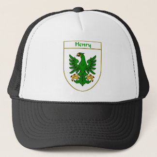 Henry Coat of Arms/Family Crest Trucker Hat