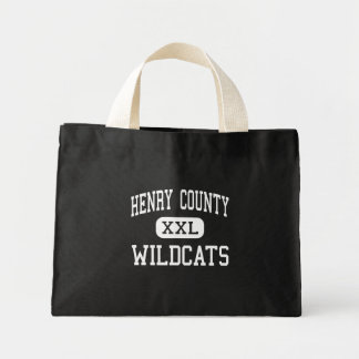 Henry County - Wildcats - High - New Castle Canvas Bags
