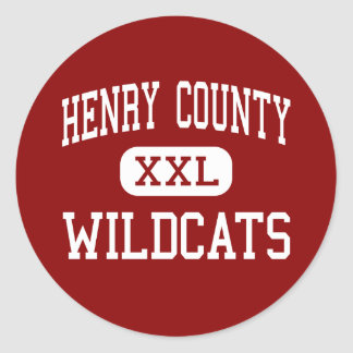 Henry County - Wildcats - High - New Castle Stickers