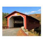 Henry Covered Bridge Bennington Vermont Postcards