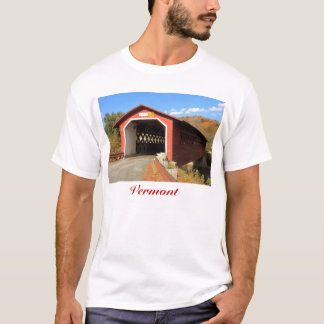 Henry Covered Bridge Bennington Vermont T-Shirt