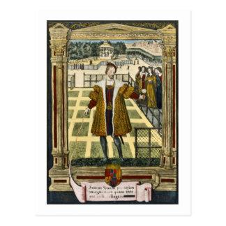 Henry d'Albret (1503-55), King of Navarre presenti Postcard