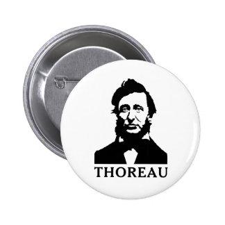Henry David Thoreau 2 Inch Round Button