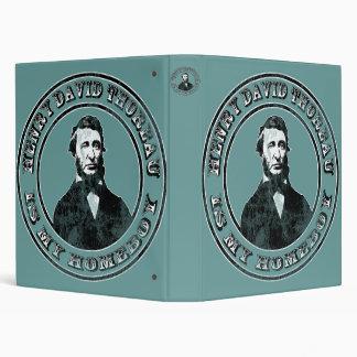 """Henry David Thoreau (apenado) Carpeta 1"""""""