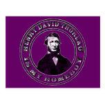 Henry David Thoreau (apenado), Postales