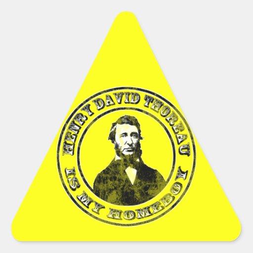 Henry David Thoreau (apenado), sticke del Calcomania De Trianguladas