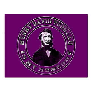 Henry David Thoreau apenado Postales