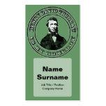 Henry David Thoreau (apenado), te de la tarjeta de Tarjetas De Negocios