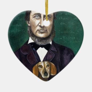 Henry David Thoreau Ceramic Ornament