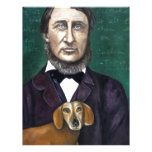 Henry David Thoreau Custom Letterhead