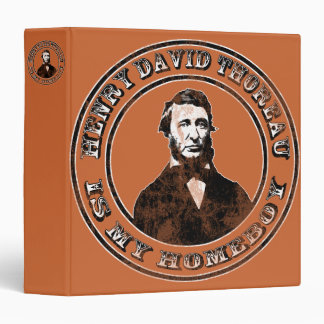 Henry David Thoreau (distressed) Binder