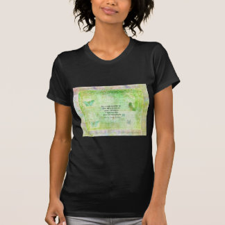 Henry David Thoreau Dream Quote with nature theme T-Shirt