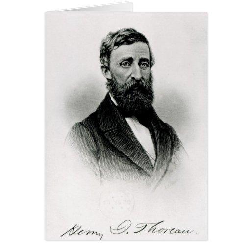 Henry David Thoreau Felicitacion