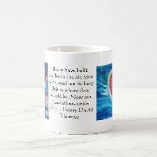 Henry David Thoreau Friendship Quote Mug