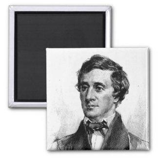 Henry David Thoreau Imán Para Frigorifico