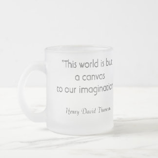 Henry David Thoreau Imagination Coffee Mug