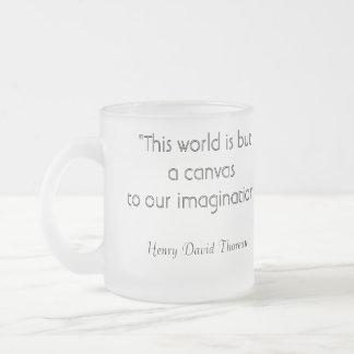 Henry David Thoreau Imagination Coffee Mug