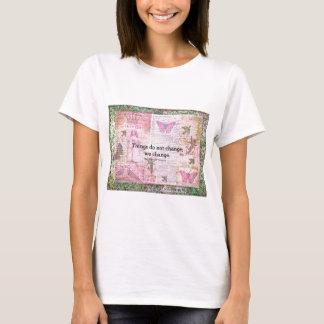 Henry David Thoreau inspirational CHANGE quote T-Shirt