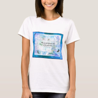 Henry David Thoreau Inspirational FREEDOM quote T-Shirt