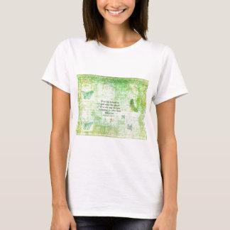Henry David Thoreau Inspirational quote art T-Shirt