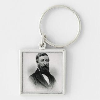 Henry David Thoreau Key Chains