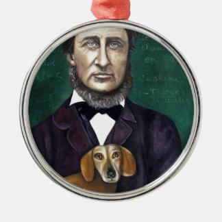 Henry David Thoreau Metal Ornament