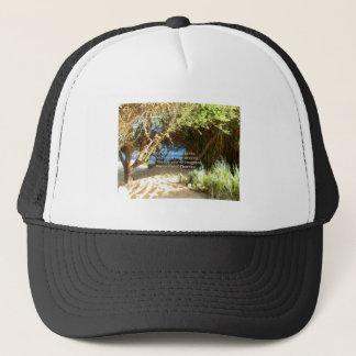 Henry David Thoreau Motivational Dream Quotation Trucker Hat