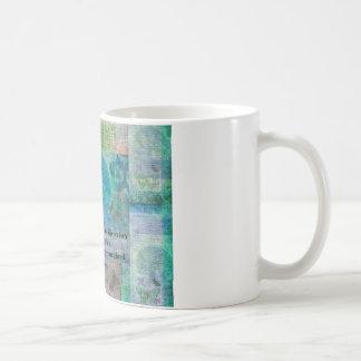 Henry David Thoreau motivational quote Coffee Mug