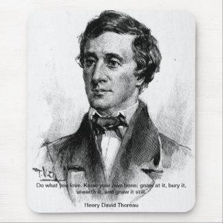 Henry David Thoreau Mouse Pad