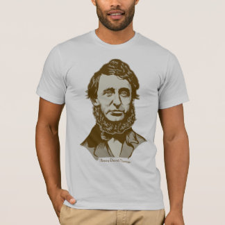 Henry David Thoreau Personalized Quote T-shirt
