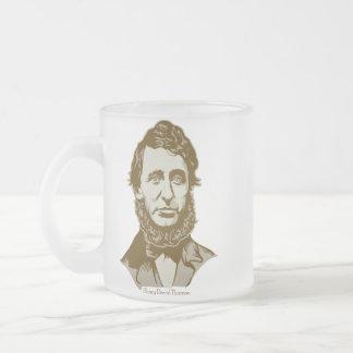 Henry David Thoreau personalizó la taza de la cita