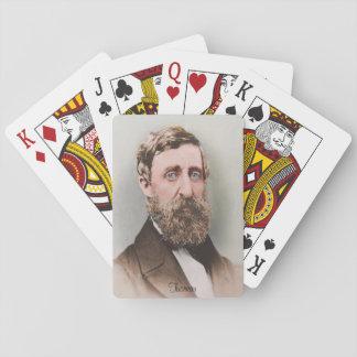 Henry David Thoreau Playing Cards