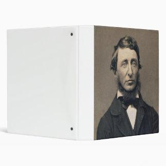 Henry David Thoreau Portrait Maxham daguerreotype Binder