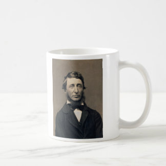 Henry David Thoreau Portrait Maxham daguerreotype Coffee Mug
