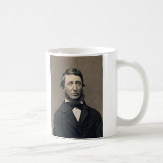 Henry David Thoreau Portrait Maxham daguerreotype Coffee Mug