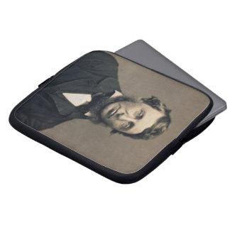 Henry David Thoreau Portrait Maxham daguerreotype Laptop Computer Sleeve