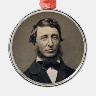 Henry David Thoreau Portrait Maxham daguerreotype Metal Ornament