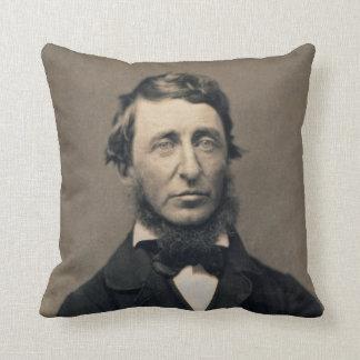 Henry David Thoreau Portrait Maxham daguerreotype Pillow