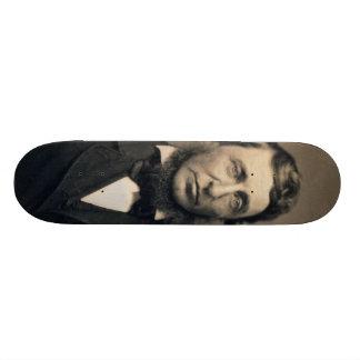 Henry David Thoreau Portrait Maxham daguerreotype Skateboard