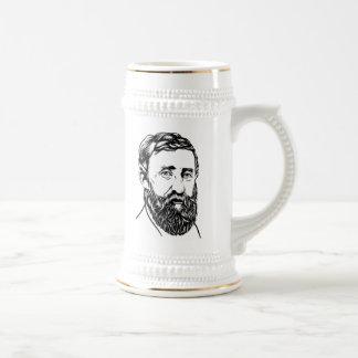 Henry David Thoreau portrait Mug