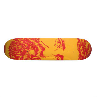 Henry David Thoreau portrait Skateboard