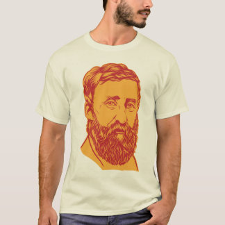 Henry David Thoreau portrait T-Shirt