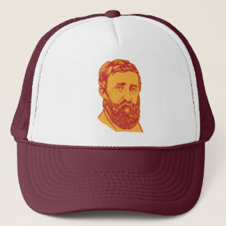Henry David Thoreau portrait Trucker Hat